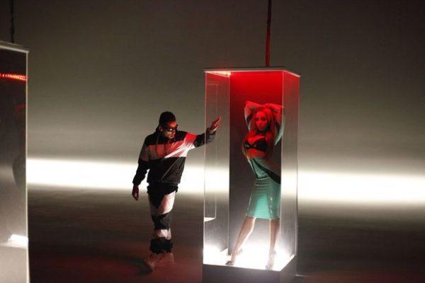 tinashe usher kid ink 2 thatgrapejuice 600x400 Hot Shots: Usher & Tinashe Shoot Body Language Video With Kid Ink