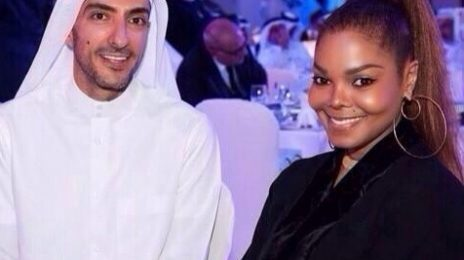 Hot Shot: Janet Jackson All Smiles With Wissam In Qatar