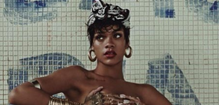 Watch: Rihanna Continues Work On New Album In NYC