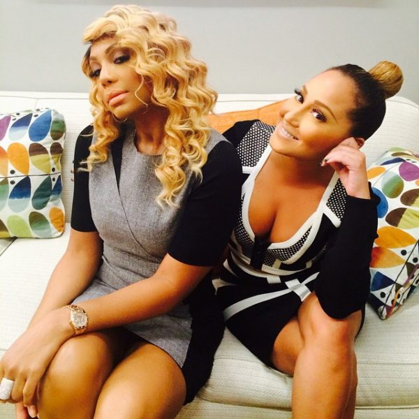 Tamar and Adrienne thatgrapejuice 600x600 Explosive: Chris Brown Slams Tamar Braxton & Adrienne Bailon