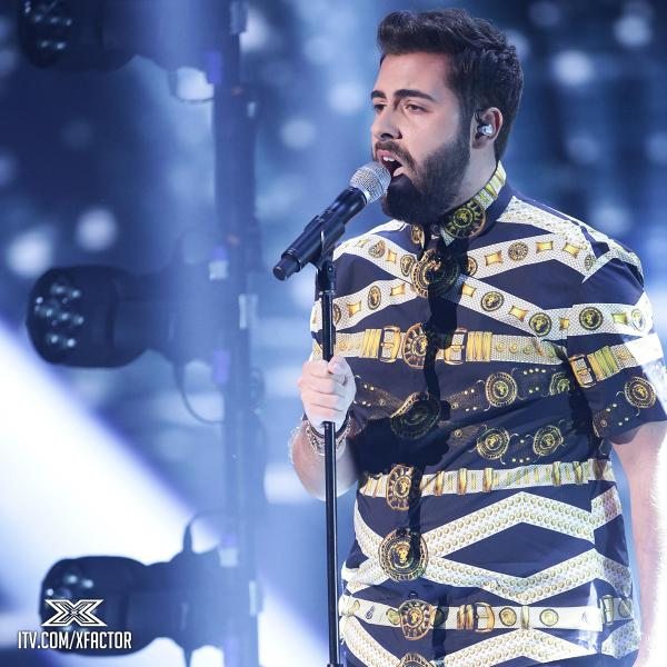 andrea faustini thatgrapejuice The X Factor UK 2014: Elimination Results (Week 7)