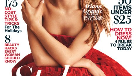 Ariana Grande Stuns On Cover Of 'InStyle' Magazine