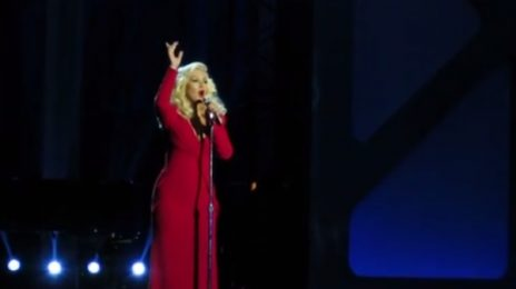 Watch: Christina Aguilera Belts 'Beautiful' In First Live Performance Since Birth of Summer Rain
