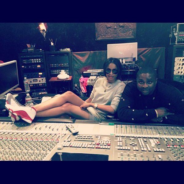 ciara harmony thatgrapejuice 600x600 Hot Shot: Ciara Hits The Studio With Harmony