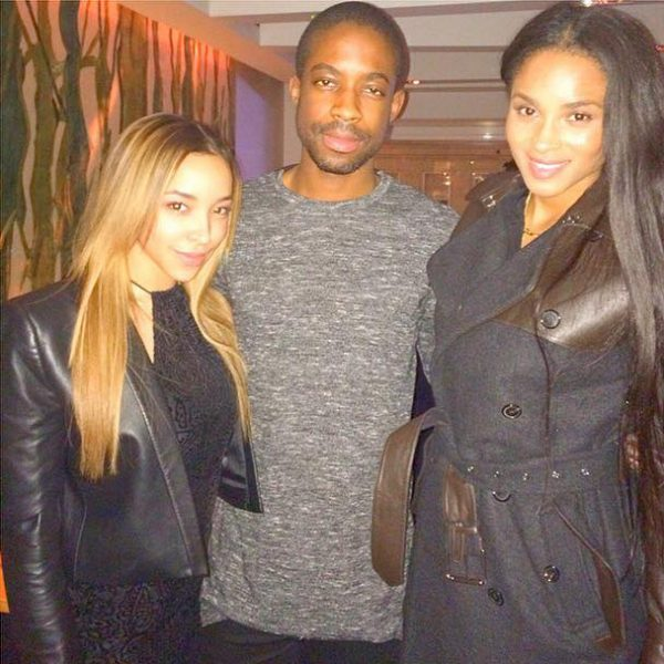 ciara tinashe thatgrapejuice 600x600 Hot Shot: Ciara & Tinashe Catch Up In London