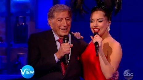 Watch: Lady GaGa & Tony Bennett Belt 'Cheek To Cheek' On 'The View'