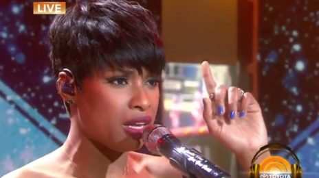 Watch: Jennifer Hudson Celebrates Whitney Houston By Performing 'One Moment In Time' On Today Show