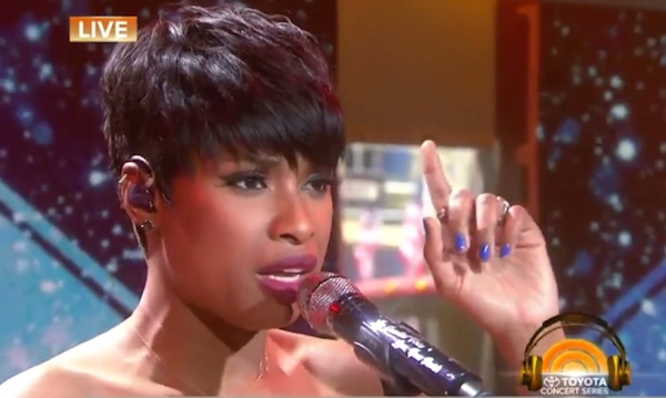 jennifer hudson one moment in time whitney thatgrapejuice Watch: Jennifer Hudson Celebrates Whitney Houston By Performing One Moment In Time On Today Show