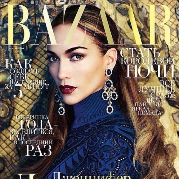 jennifer lopez harpers bazaar thatgrapejuice 600x600 Jennifer Lopez Covers Harpers Bazaar