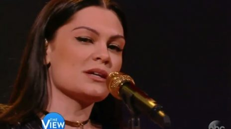 Watch: Jessie J Performs 'Burnin' Up' On 'The View'