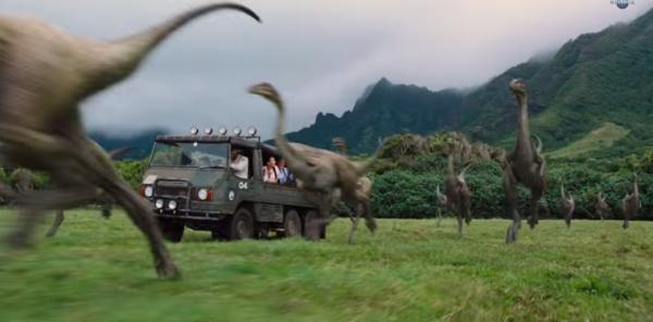 jurassic world that grape juice 2014  600x296 Movie Trailer: Jurassic World