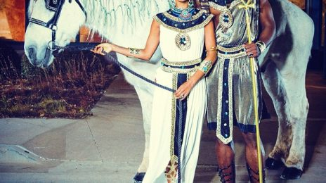 Keri Hilson Heats Up Halloween With Egyptian Themed Costume
