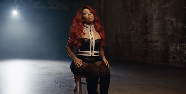 kmichelle love em all video thatgrapejuice New Video: K. Michelle   Love Em All