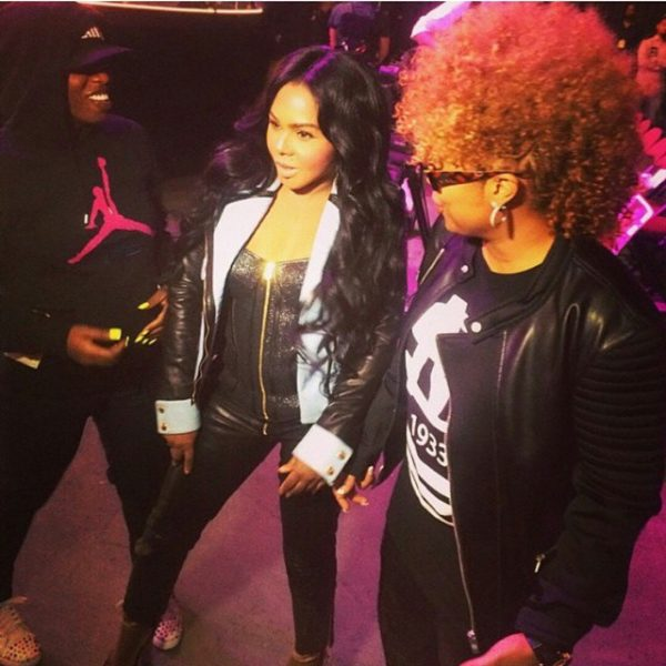 lil kim missy elliott da brat thatgrapejuice 600x600 Hot Shots: Lil Kim, Missy Elliott, & Da Brat Rehearse For Soul Train Awards