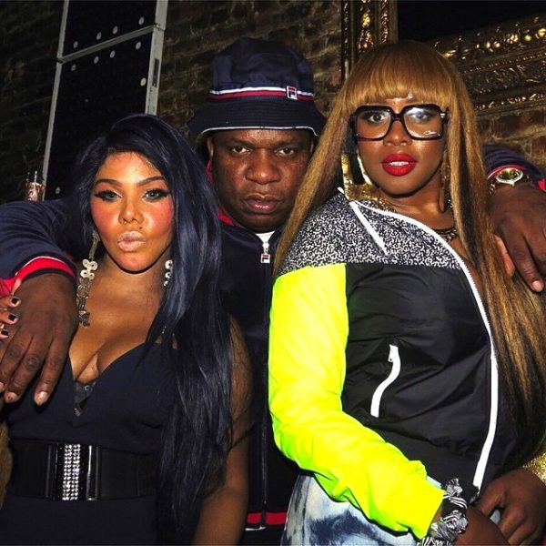 lil kim remy ma fendii thatgrapejuice 600x600 Hot Shot: Lil Kim & Remy Ma Pose It Up At Fabolous Birthday