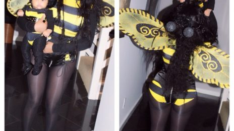 Hot Shots: Lil Kim Celebrates First Halloween With Daughter Royal Reign