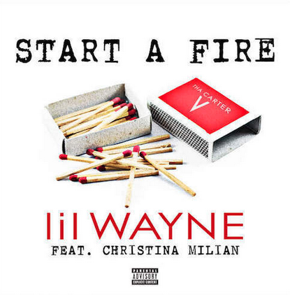 lilwaynechristinamilianthatgrapejuice New Song: Lil Wayne   Start A Fire (Ft Christina Milian)