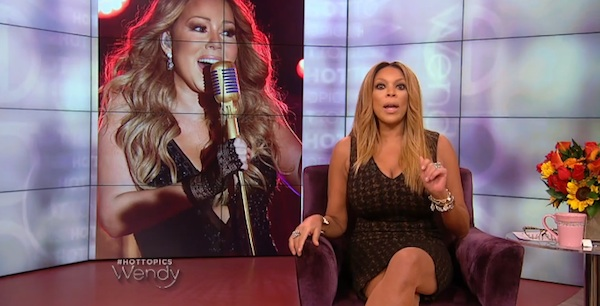mariah carey wendy williams thatgrapejuice Wendy Williams Reveals She Turned Down Mariah Careys Request To Visit Her Show Due To Diva Demands