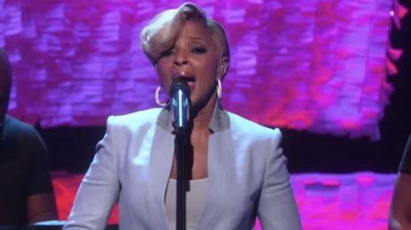Watch: Mary J. Blige Belts 'Right Now' On 'Ellen'