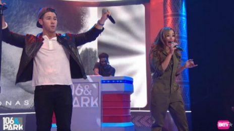 Watch: Nick Jonas & Tinashe Rock '106 & Park' With 'Jealous' Remix