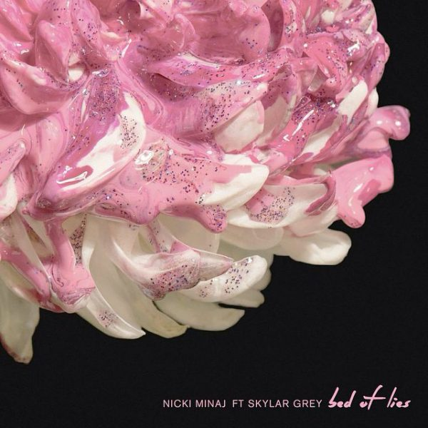 nicki minaj bed of lies thatgrapejuice 600x600 New Song: Nicki Minaj   Bed Of Lies (ft. Skylar Grey)