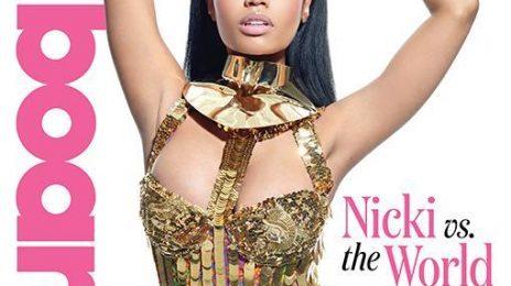 Nicki Minaj Blazes Billboard Magazine