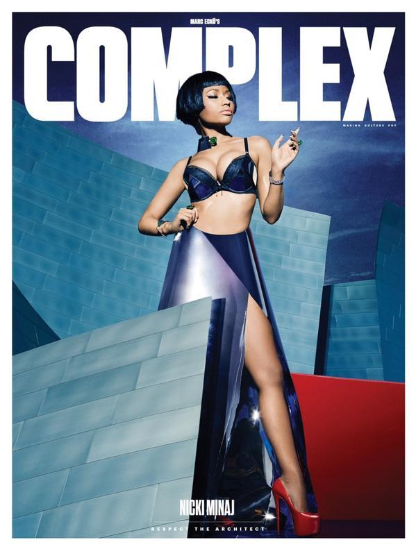 nicki minaj complex cover thatgrapejuice Nicki Minaj Covers Complex / Dishes On The Pinkprint, Retirement, Motherhood, & More
