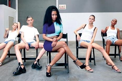 nicki minaj new york fashion week that grape juice 2014 Watch: Nicki Minajs Anaconda Covered By John Ramsay Of Marianas Trench