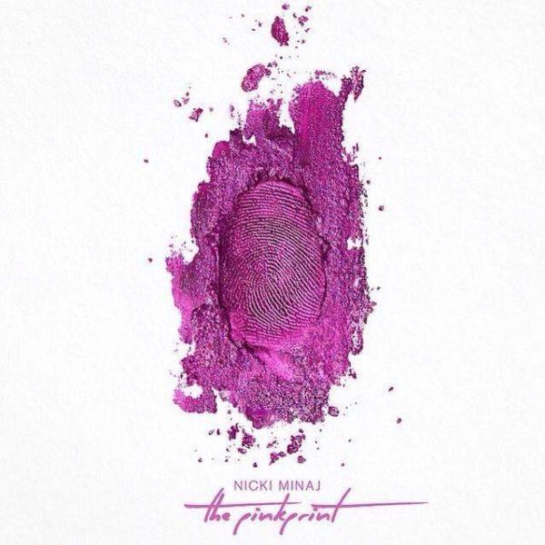 nicki minaj-thatgrapejuice-pink print album cover