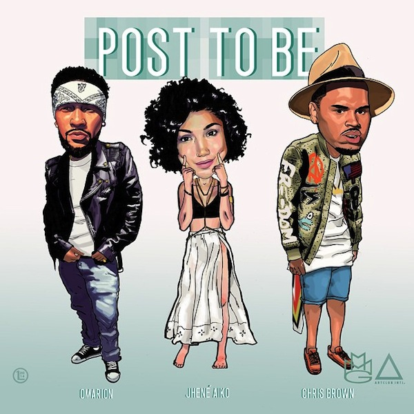 omarion post to be thatgrapejuice New Song: Omarion   Post To Be (ft. Chris Brown & Jhene Aiko)