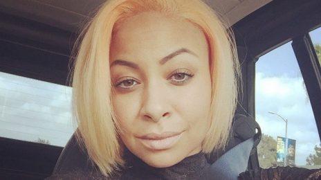 Hot Shot: Raven Symone Debuts New Peach Colored Hair
