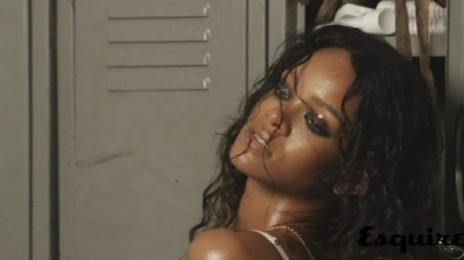 Behind The Scenes: Rihanna's Edgy 'Esquire' Shoot