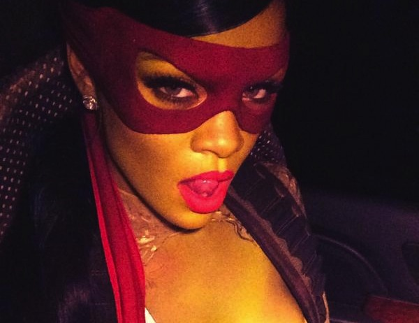 rihanna halloween thatgrapejuice A Hollywood Halloween 2014: Who Had the Best Costume?