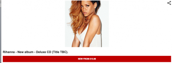 rihanna r8 that grape juice 1 600x219 Report: Rihanna To Release New Album On Christmas Day / Releases Pre Order Link?