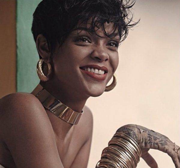 rihanna that grape juice 2014 vogue brazil 600x562 Rihanna To Perform New Single On X Factor UK?