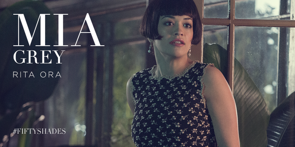 rita ora 50 shades grey mia thatgrapejuice First Look: Rita Ora As Mia In Fifty Shades Of Grey Movie