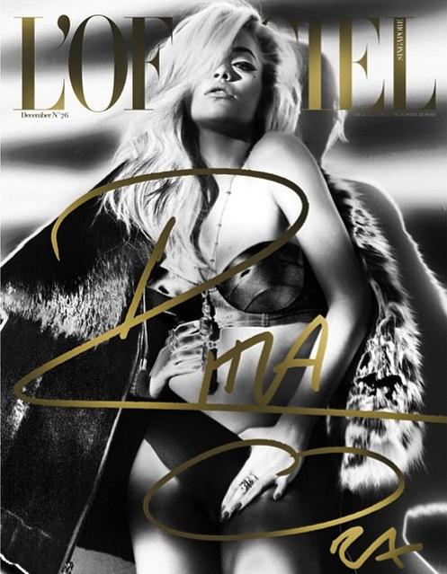 rita ora lofficiel 2 thatgrapejuice Fierce: Rita Ora Rocks Cover Of LOfficiel