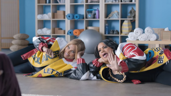 salt n pepa that grape juice 2014 geico 600x338 SaltNPepa Ink Major Deal With Geico / Star In Hilarious Push It Commercial