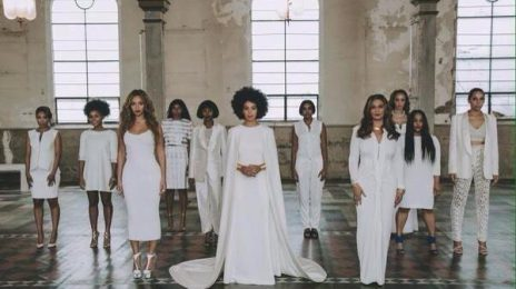 Hot Shots: Solange Poses With Beyonce & Mother Tina At Wedding