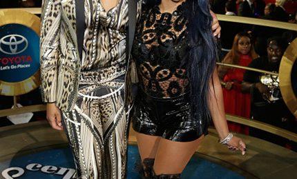 2014 Soul Train Awards:  Chris Brown, Tamar Braxton, Lil' Kim, & More Shine On Red Carpet
