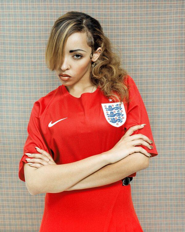 tinashe vice 3 thatgrapejuice 600x751 Hot Shots: Tinashe Tributes British Fashion For VICE