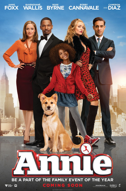 Annie that grape juice 2014 movie Watch: Jamie Foxx & Cameron Diaz Talk Annie On The Graham Norton Show