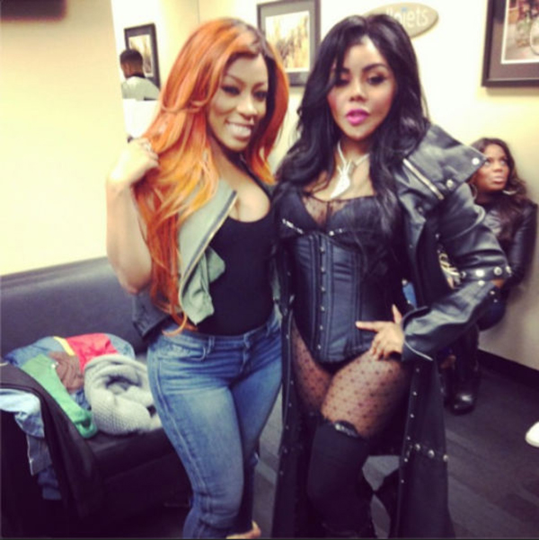 K-Michelle-and-Lil-Kim-ThatGrapeJuice