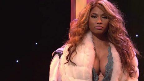 Watch:  Nicki Minaj Impersonates Beyonce, Kim Kardashian In Hilarious 'SNL' Skits