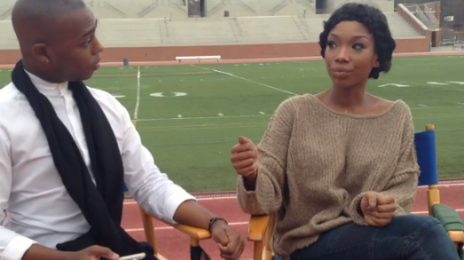 Watch: Brandy Talks New Album, Tamar Braxton's Voice & Jhene Aiko Duet