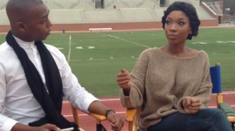Watch: Brandy Talks New Album, Tamar Braxton's Voice & Jhene Aiko Duet