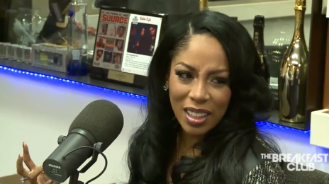Watch: K. Michelle Hits 'The Breakfast Club' For 'Anyone Wanna Buy A Heart' Promo