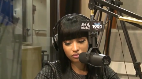 Watch: Nicki Minaj Breaks Down During Interview With Power 105's Angie Martinez