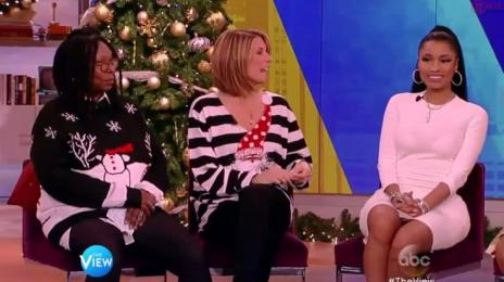 Watch: Nicki Minaj Promotes 'The Pinkprint' On Controversial Episode Of 'The View'