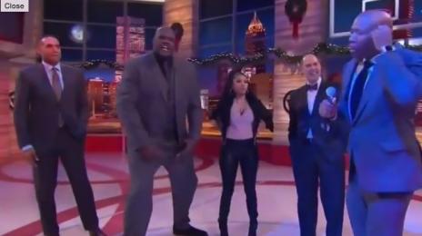 Watch: NBA TNT Cypher (Featuring Shaquille O'Neal & Nicki Minaj)
